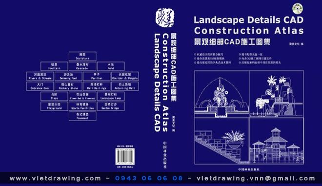 CADD ② : Chi tiết cấu tạo kiến trúc cảnh quan