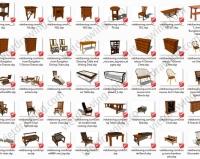 Thư viện SKETCHUP MỄN PHÍ: Bàn ghế, tủ, …đồ nội thất cổ