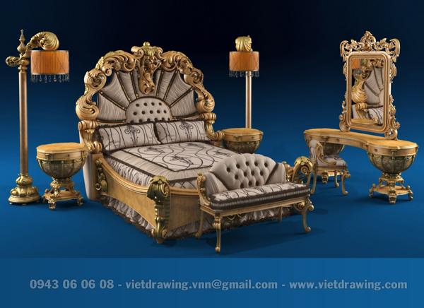 M-028: Classic furniture 02