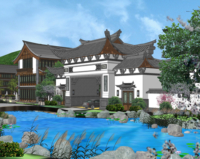 SU-030 SKETCHUP EXTERIOR VOL.23 (CHINA STYLES)