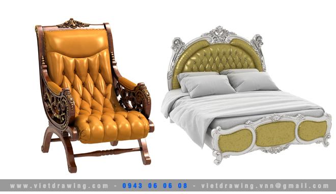 M-043: Classic furniture 04
