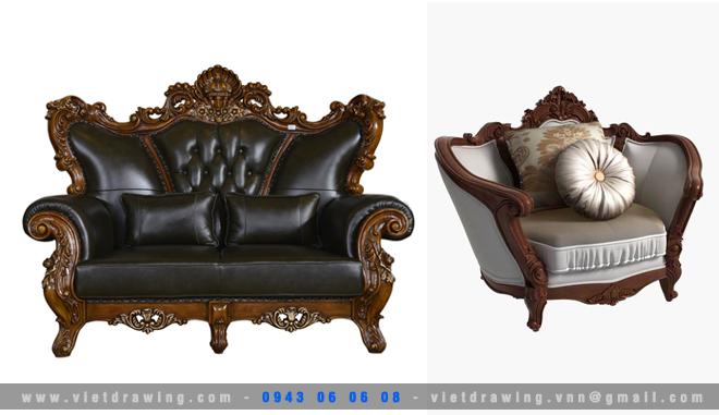 M-044: Classic furniture 05