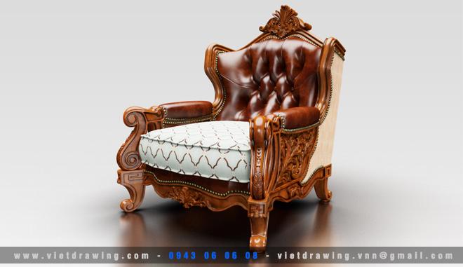M-045: Classic furniture 06