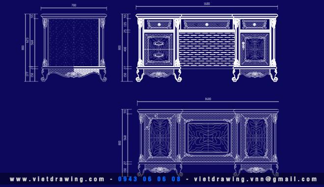 CADI-012: CAD CLASSIC FURNITURE – VOL.1