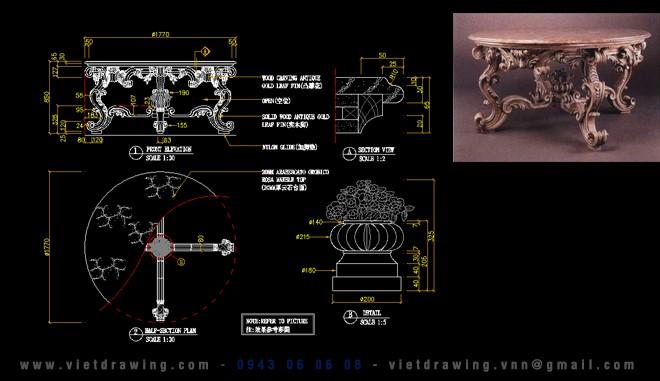 CADI-019: 15.000 CAD FURNITURE VOL.4 (CLASSIC + MODERN)