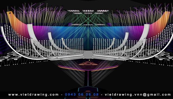 SU047 – SKETCHUP STAGE 3D MODEL VOL.1