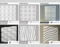 M-022: 3D Wall for CNC / Tường thạch cao 3D